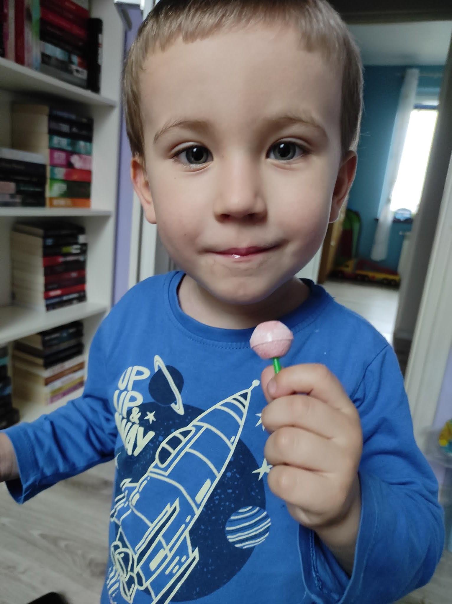 Zdrowy lizak - czy istnieją zdrowe słodycze dla dzieci ?