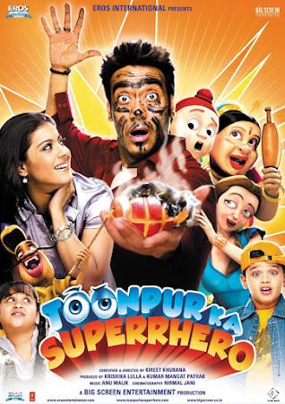 Watch Online Bollywood Movie Toonpur Ka Superrhero 2010 300MB HDRip 480P Full Hindi Film Free Download At WorldFree4u.Com