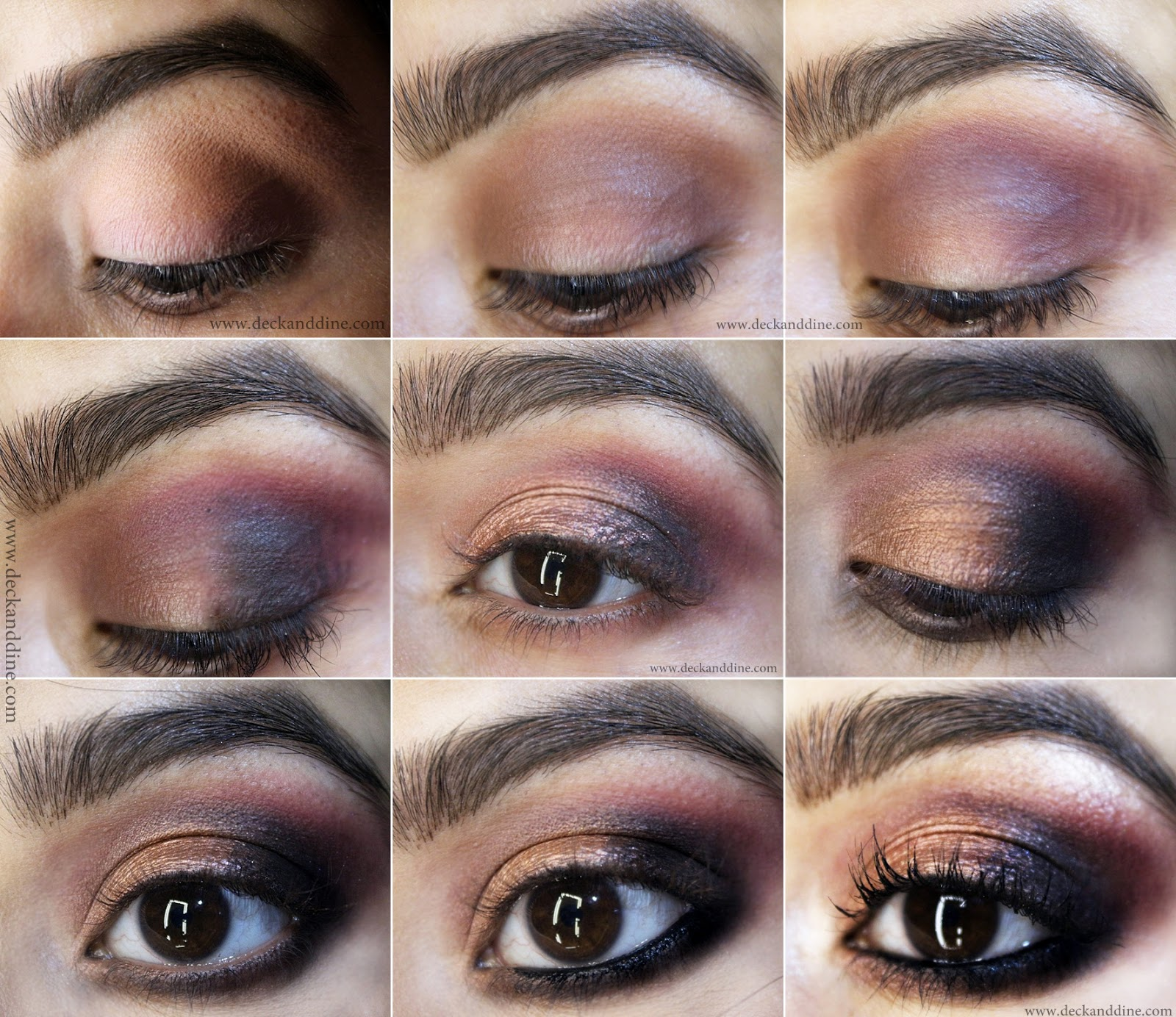Valentines Day Easy Rose Gold Smokey Eyes Tutorial Deck And Dine