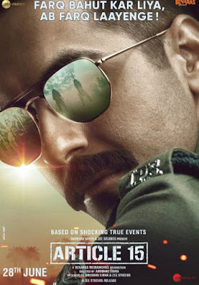 Article 15 Movie First Look, Article 15 Poster, Article 15 Movie First Look