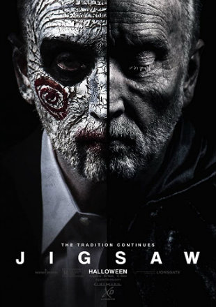 Jigsaw 2017 BRRip 720p Dual Audio