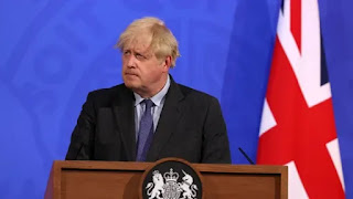 UK PM Johnson confirm the government's plan to cease preventive measures against covid19