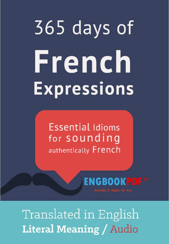 365 Days of French Expressions PDF eBook by Frederic Bibard