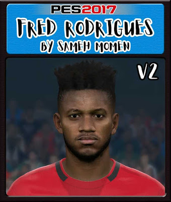 PES 2017 Fred Face by Sameh Momen