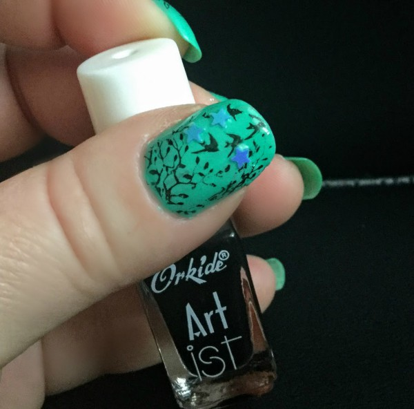 Forest Creatures , nail art