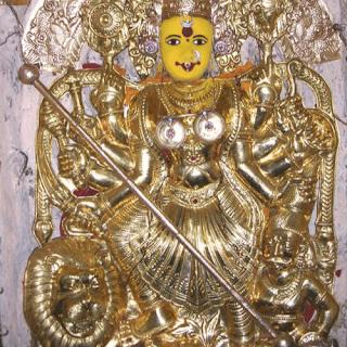 Sri Swarna Kavachalankrita Durga Devi