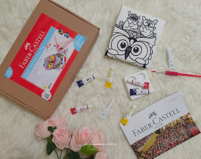 Paket creative art series Colour Your Own Tote Bag