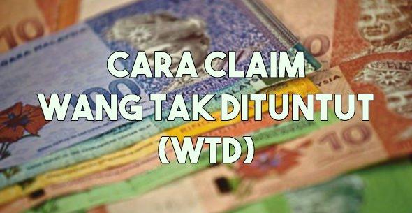 cara tuntut claim WTD