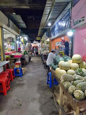 lantai 1 pasar besar malang