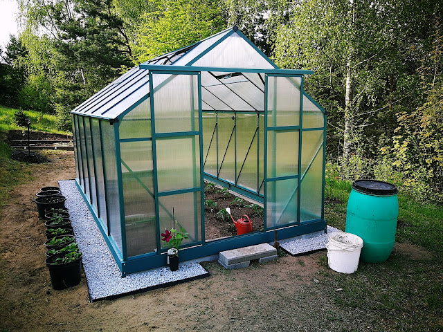 Szklarnia ogrodowa - ekologiczna uprawa warzyw. Cześć I