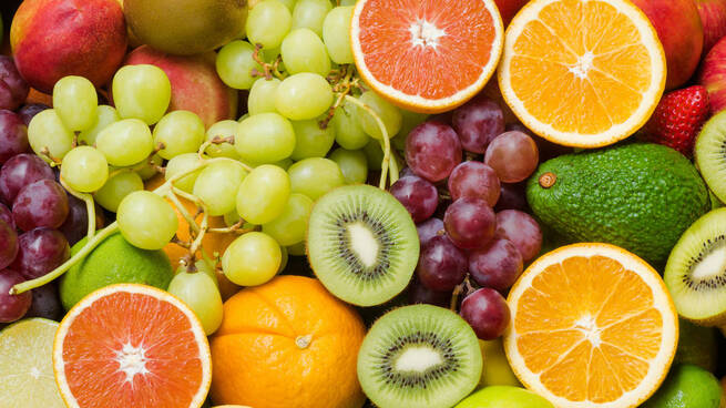Frutas para una buena salud