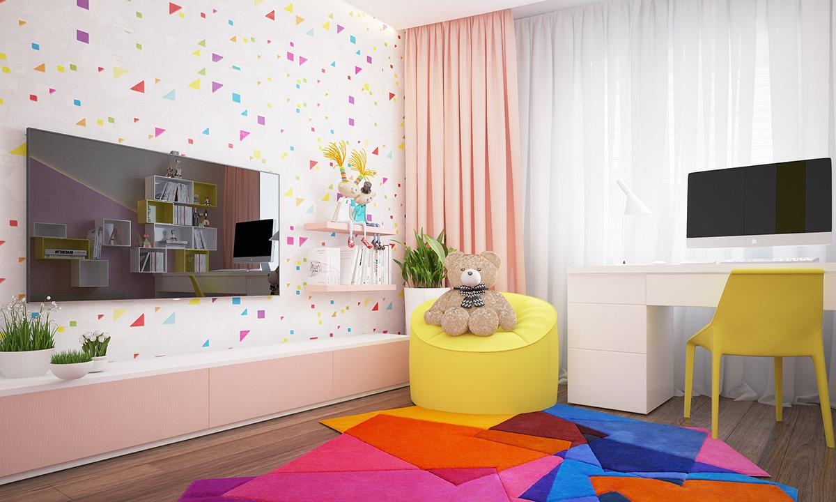 2a11461af27 Διαφωνώ βέβαια με την χρήση τηλεόρασης, ειδικά τόσο μεγάλης σε ένα παιδικό  δωμάτιο.
