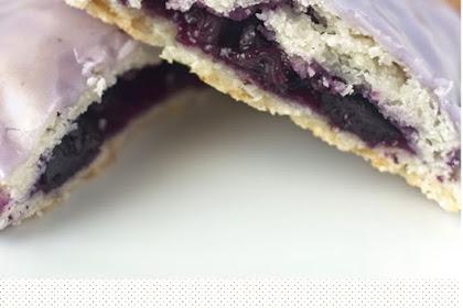Vegan Blueberry Poptarts