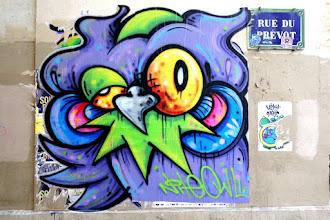 Sunday Street Art : Nite Owl - rue du Prévôt - Paris 4