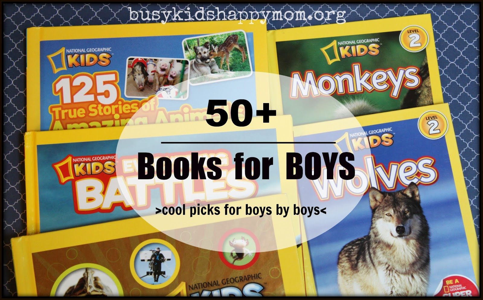 Books for 8 Year Old Boys - Busy Kids Happy Mom