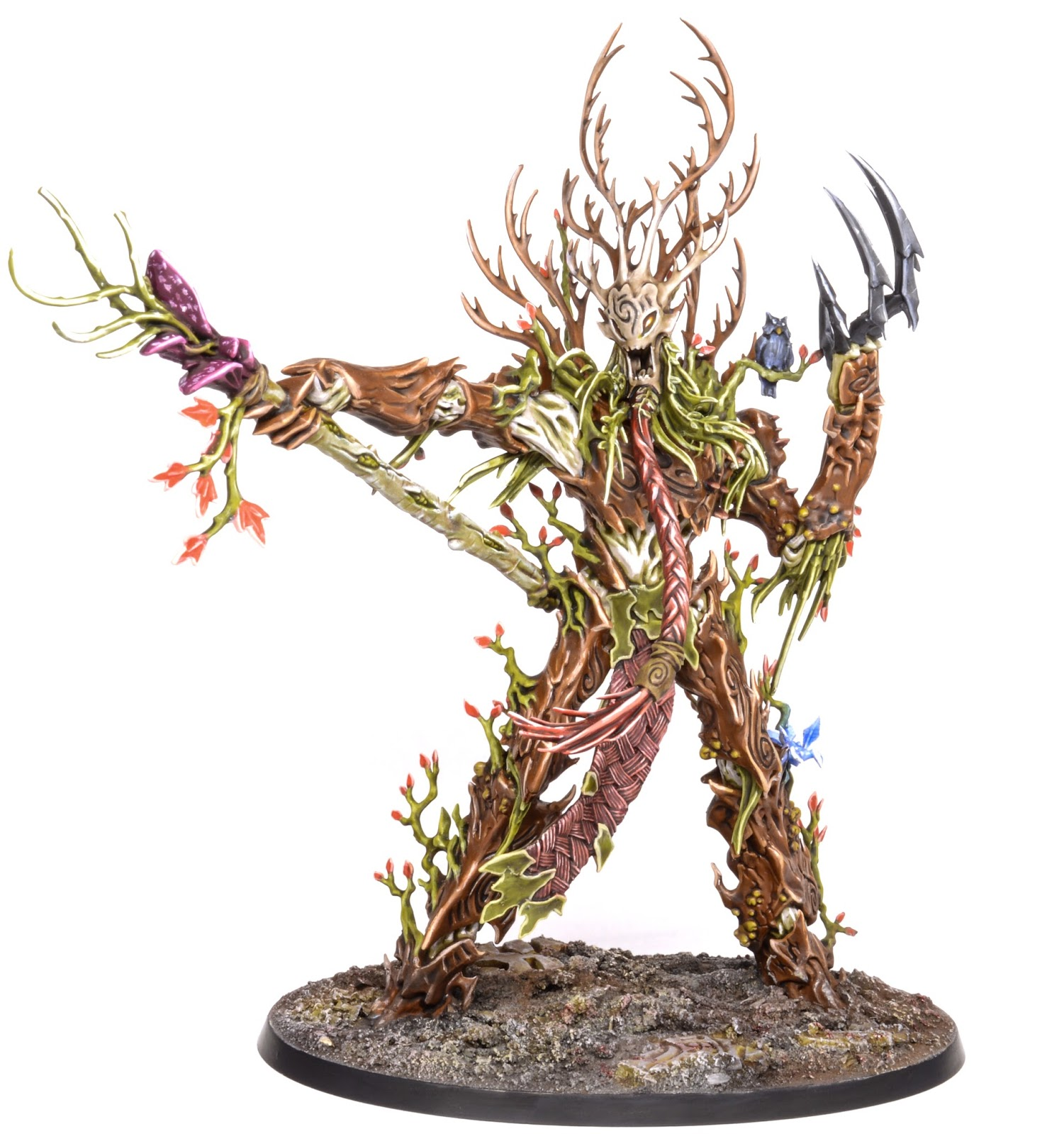 Showcase: Sylvaneth Treelord Ancient - Tale of Painters