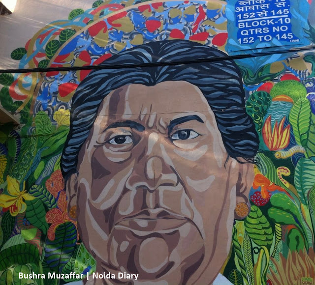 Noida Diary: Lodhi Art District is Dotted with Beautiful Murals
