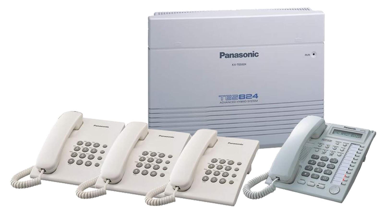 Programming Simple PABX Panasonic KX-TES824 - Winda Wijayanti