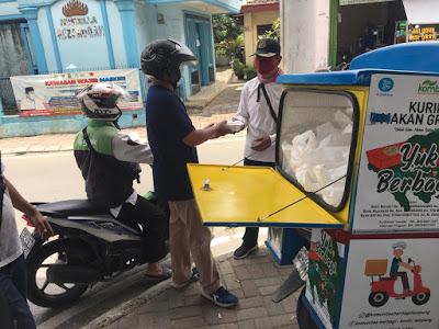 Kurir Makan Gratis Hadir di Bandar Lampung