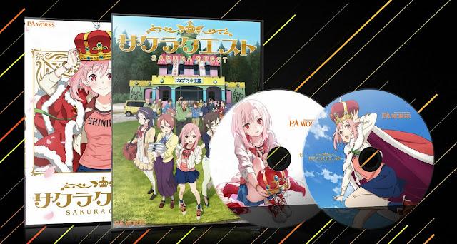 Sakura Quest | Cover DVD |
