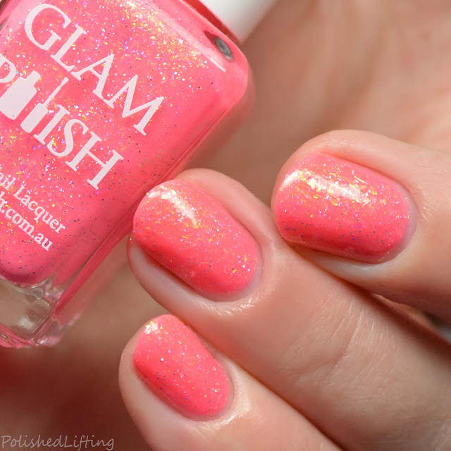 cerise crelly nail polish