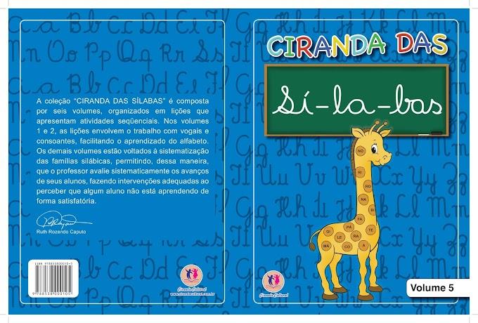 Ciranda das Sílabas Volume 5.
