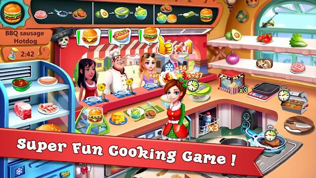 Download Rising Super Chef 2 Mod Apk