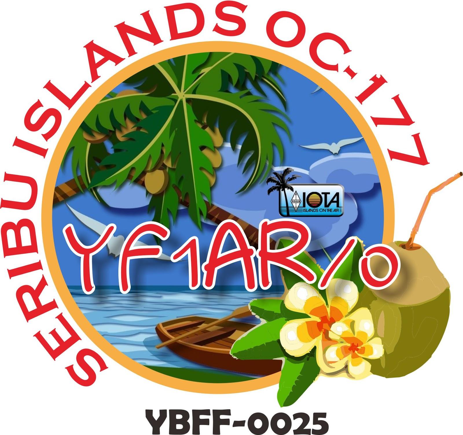 Pramuka: YF1AR Yankee Foxtrot One Alpha Romeo: YF1AR/0 YBFF-025 OC