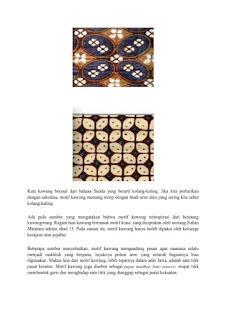 contoh tugas seni rupa ragam hias