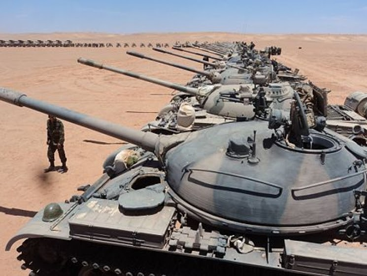 La guerra de liberación saharaui golpea a las tropas marroquíes en Auserd y Mahbes