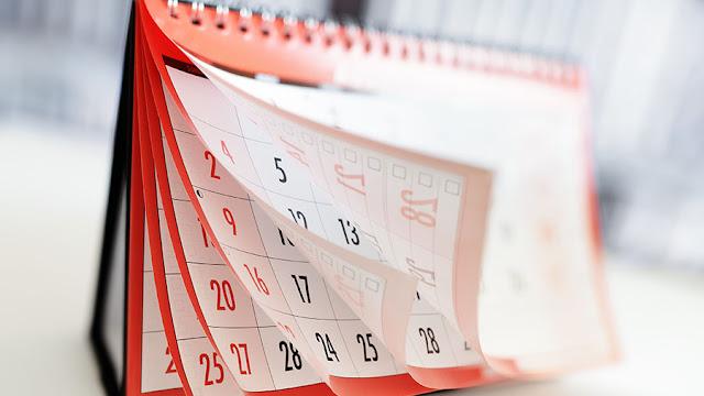 Lịch học ngoại ngữ ngày tháng năm