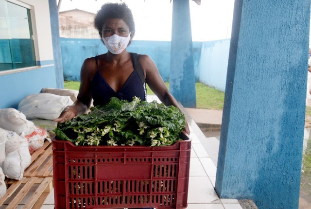 PAA distribui 6,5 toneladas de alimentos da agricultura familiar a famílias em situação de vulnerabilidade social