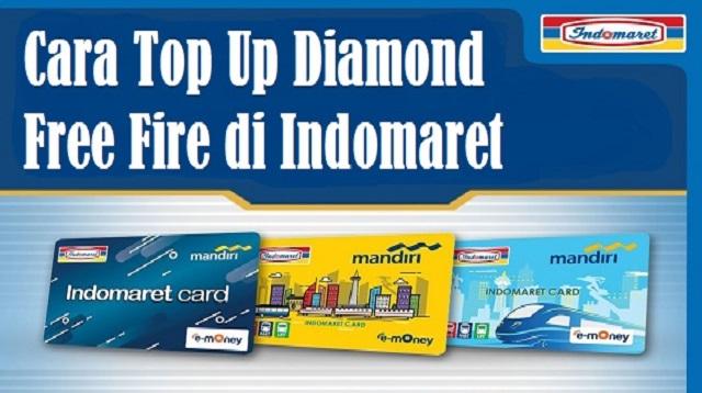 Cara Top Up Diamond Free Fire di Indomaret