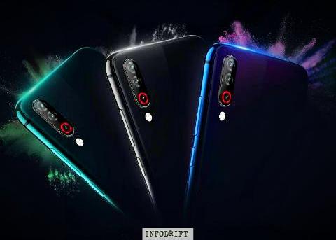 LG W30 colours