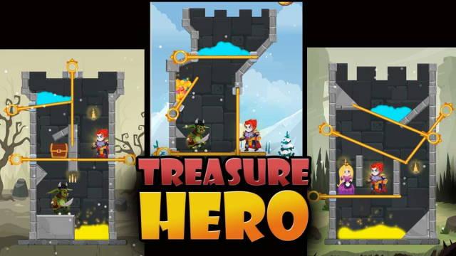 Treasure Hero Pin Riddle Game