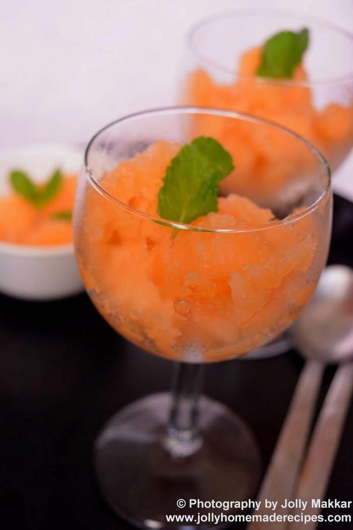 Musk Melon Granita