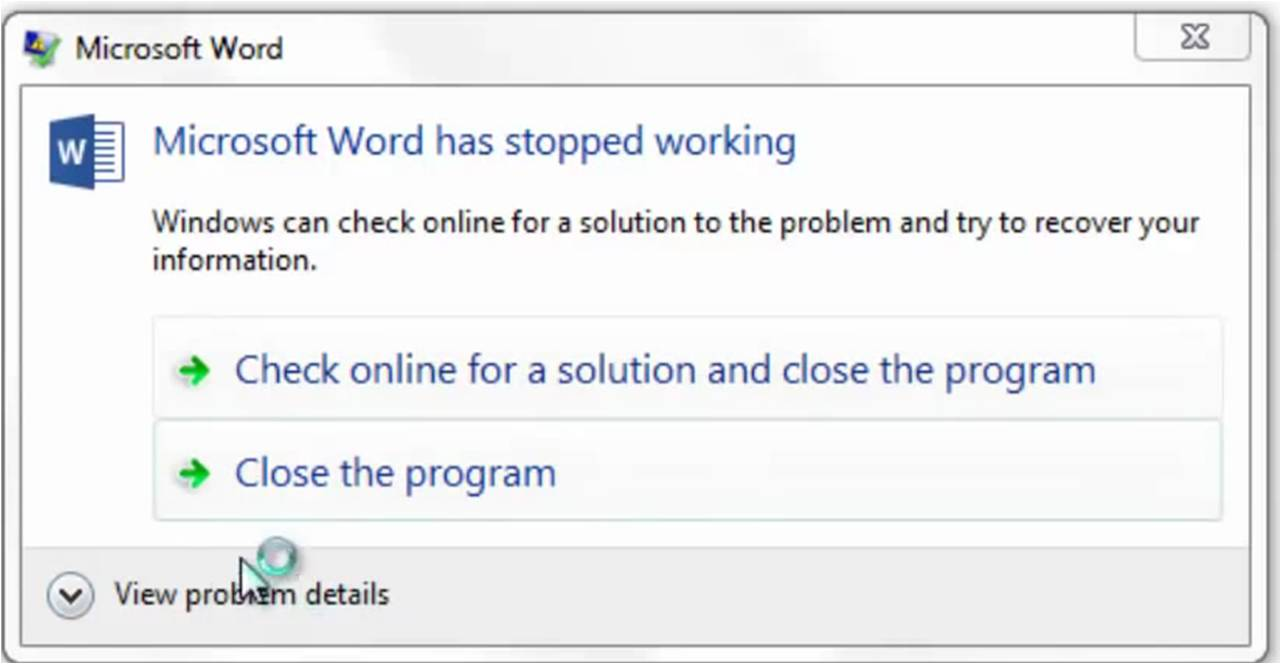How to fix BEX error in Word, Excel and PowerPoint