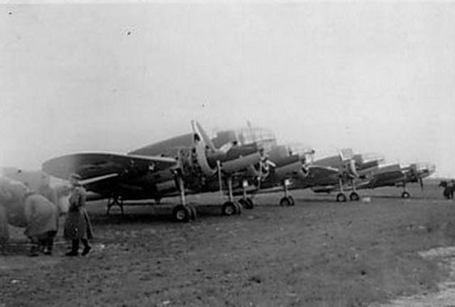 Pre-war Polish PZL-P-37 planes worldwartwo.filminspector.com