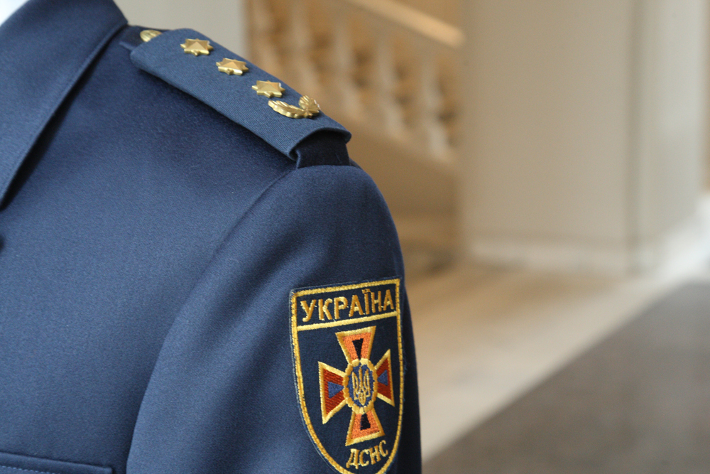 формений одяг для служби цивільного захисту