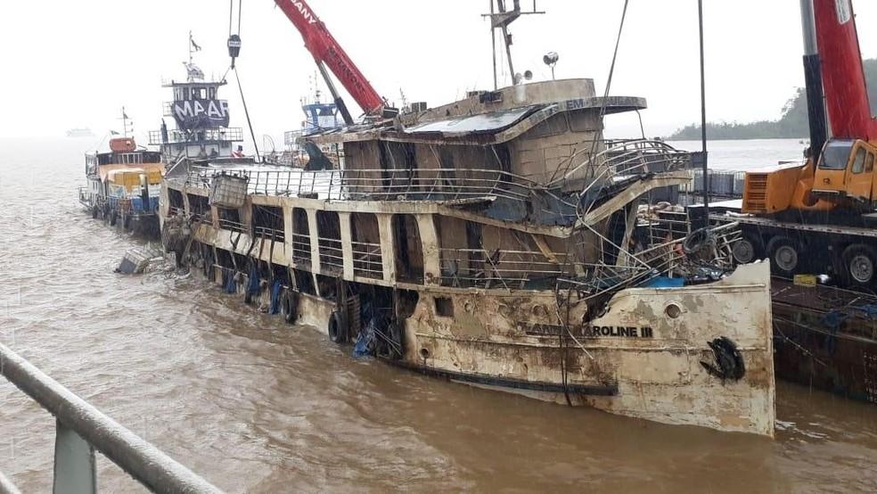 PF aponta absurdos no naufrágio do Anna Karoline e indicia 5; 42 pessoas morreram