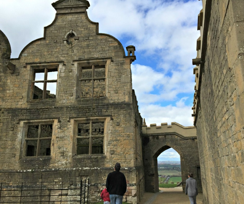 10 Things To Do During The Easter Holidays | Bolsover Castle is such a wonderful place to revisit, it reminds me of our wedding day.