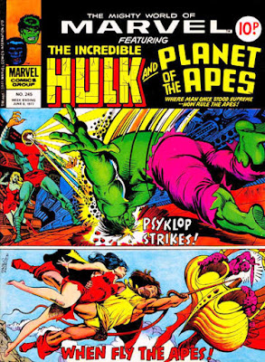 Mighty World of Marvel #245, Hulk v Psyklop