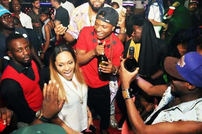 00 Photos: 2face, Wizkid, Sasha attend PREs 25th birthday party