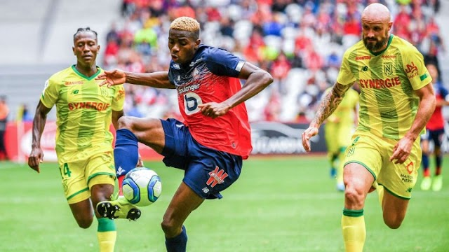 Victor Osimhen Scores Two Goals On Lille Debut Against Nantes