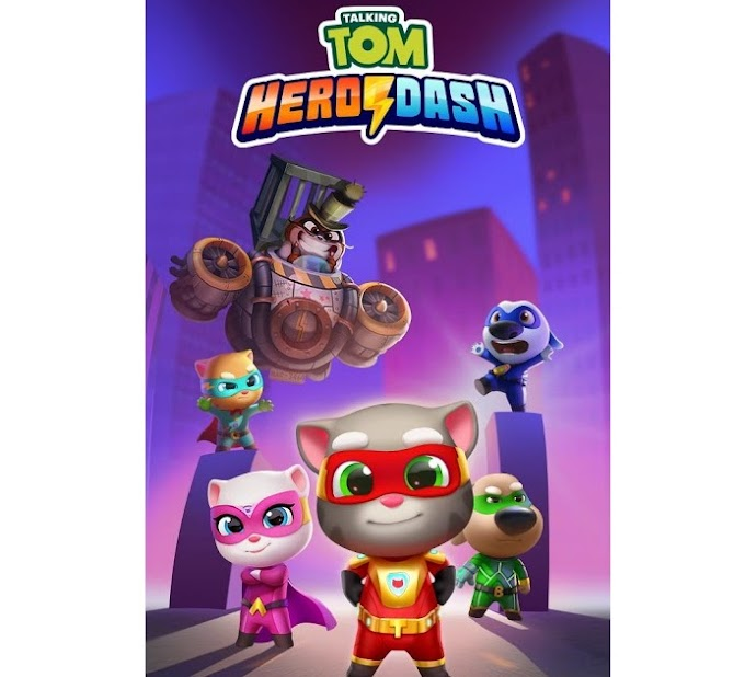 Talking Tom Hero Dash dinheiro infinito