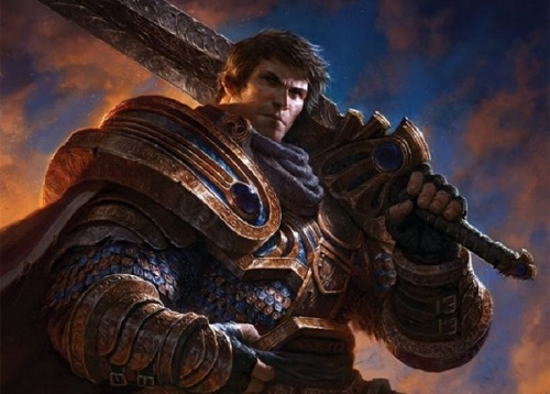 Tướng Garen có xuất thân rất chi là danh giá, thuộc vào dòng xoáy dõi siêu anh hùng nhiều năm