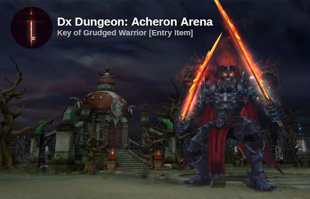 New DX Dungeon: Acheron Arena