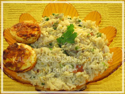 Egg Rice / Muttai Sadham