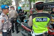 Polsek Medan Helvetia Jaring Puluhan Pelanggar di Hari ke 5 Operasi Patuh Toba
