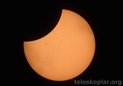 Güneş tutulması resimleri